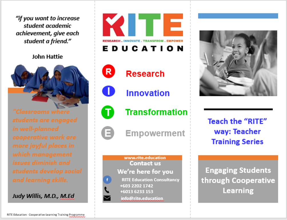 Rite Education   Research, Innovate, Transform, Empower